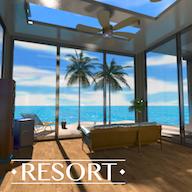 逃脱游戏度假酒店热带沙滩