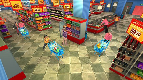 疯狂超市购物