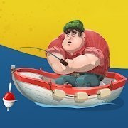Larry fishing