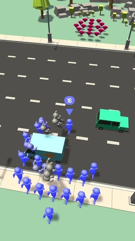 人群VS交通